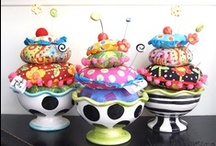 Pin Cushions / by Connie McBride Johnson