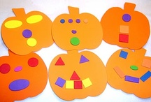 Halloween crafts for D's class / by Erin Lacey-Field