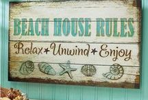 Home Decor: Beach Cottages / by Connie McBride Johnson