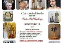 Cloth Doll Artistry / Collection of CDA Challenges   / by Connie McBride Johnson