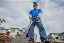 Volunteers at Work / by Habitat for Humanity