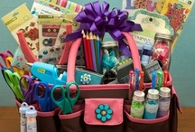 DIY Gift baskets ideas & diaper cakes / by Crystal Gramm