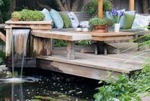 Outdoor Living - Backyard, Landscape & Porches / by Jessica Haas