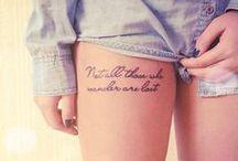 Tattoos&Piercings / by Maggie Kuru