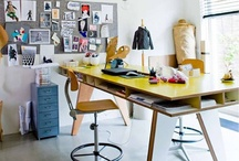 office space/studio / by Janet Sherman / Buckleberry