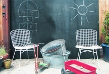 kids outdoor spaces / by Janet Sherman / Buckleberry