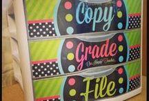 Classroom Organization & Printables / by Rebecca Mann