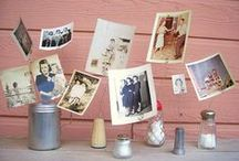 Photo Display Ideas / Think Out Of The Frame, New And Revolutionary Photography Display Ideas... / by Kim Franklin (Trashy Crafter)