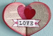 Recycled Valentines Day / Get Crafty With Love / by Kim Franklin (Trashy Crafter)
