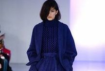 Cobalt Blue & London Fashion Week 2014 / Keep your team on trend with Cobalt Blue, featured on the catwalks of London Fashion Week 2014. Choose our new Cobalt Blue tunics or blouses, or add the finishing touch with our new striped scarf. / by Simon Jersey | Uniforms