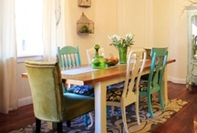 Dining & Living Rooms / by Samantha Frisby