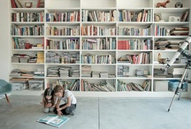 libreros / by Tere Paez