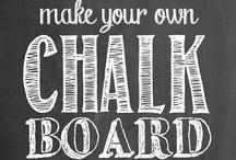 Chalkboard Design / by Noland // High Five Media