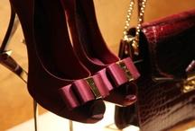 Burgundy Shoes / by MariKamo Design