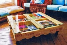 PALLETS & other wood things / Interesting reuses of wood (from pallets, etc.) / by Unconsumption