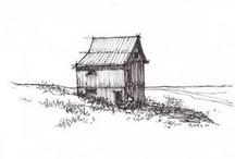 The Drawing Board / I love pencil sketches.  I wish I had drawing skills / by Erin Adams