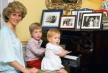 Diana Princess of Wales / Dedicated to a kind hearted Lady Diana Spencer,  the most beautiful princess  / by Laura Sie