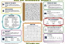 Shaarai's Teacher Lounge / A place for Jewish and Education Ideas for our kids and classrooms / by Courtney Savercool