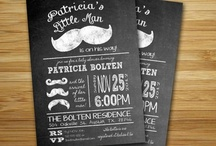 Baby Shower {Mustaches & Bow Ties} / Mustache & bow ties baby shower. / by Amanda Santee