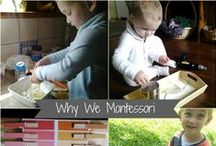 Montessori Info & Advice / Montessori parenting, environment, and materials information and advice. / by Rachel B | Racheous - Lovable Learning