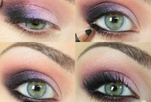 The Eyes Have It / Make-up tutorials for the eyes: primer and shadow and lashes, oh my! / by Kaitlyn Lowery