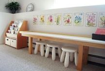 Playful Learning Spaces For Kids To Explore and Grow / by MaryLea @ Pink and Green Mama