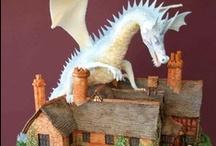 Dragon Cakes / by Pat Korn