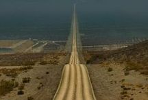 STUNNING ROADS HIGHWAYS TRACKS / by Paul