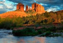 * sedona, az.... / What can I say about my favorite place here in Arizona  to getaway for the weekend? It is amazing, full of wonder and beauty. It will live in your heart forever if you visit. / by Sandi Evans