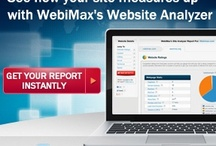 WebiMax Website Analyzer / WebiMax's Website Analyzer provides key SEO metrics and rankings in a FREE instant report! Enjoy :) / by WebiMax