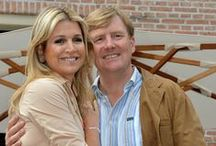 Dutch-HM Maxima and King Wilhelm-Alexander / by Dee