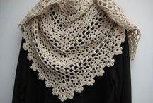 CrochetーBlanket,Collar,Cowl,Shawl,Scarf,Poncho,Wrap / by シマリスぐり     simarisu guri