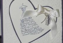 wedding/anniversary cards / by Helen Dunphy Bennett