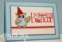 birthday cards / by Helen Dunphy Bennett