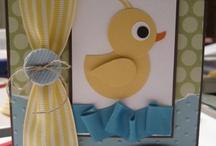 baby cards / by Helen Dunphy Bennett
