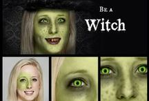 Witches / Your coven is calling you, Witchipoo. And if you're dressing up for the occasion, we'll help you green-up your skin, add pockmarks, extra tooth decay, and a selection of witch hats. Bring it with your magical creatures and spiders, too! / by PicMonkey