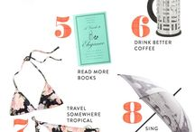Lists to live by / by Erica Faulkner