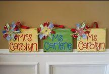 Teacher gifts / by Megan Biermaier