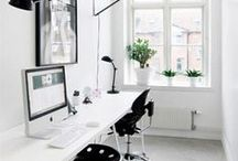 Home Office/Work Space / by Nina