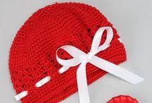 Crochet Hats / by Myka @ Rosedale Swing Company