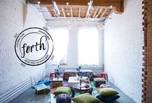 Forth Chicago / Forth Chicago is a seasonal salon for bright women. / by Step Brightly | Brand Design
