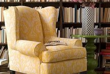 upholstery / tips and techniques for reupholstering furniture / by Rachel Linquist