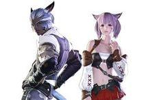 Final Fantasy. / Screencaps and fanart of the Final Fantasy games and movies. / by Samanta Marie