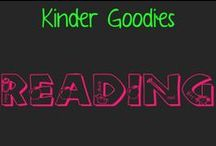 kinder goodies {reading} / by Amy Mc