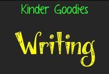 kinder goodies {writing} / by Amy Mc