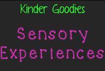 kinder goodies {sensory experiences} / by Amy Mc