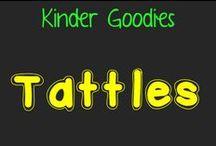 kinder goodies {tattles} / by Amy Mc