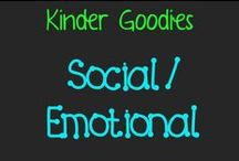 kinder goodies {social/emotional} / by Amy Mc