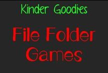 kinder goodies {file folder games} / by Amy Mc