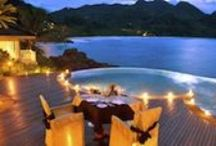 Destinations / Some of the world's most luxurious and pampering getaways for a relaxing and romantic pregnancy holiday (babymoon) or for spending time with your new baby and family / by Luxe Family - Travel